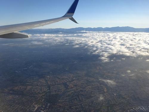 ほどなくでロサンゼルスです。