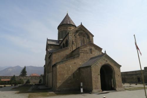 スヴェティツホヴェリ大聖堂です。