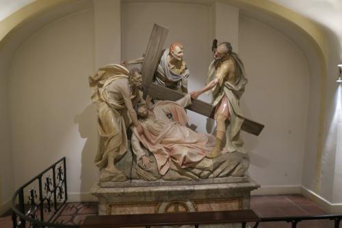 キリスト教にまつわる像が多かったですね。