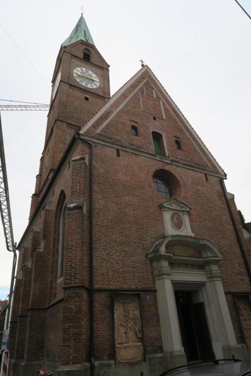 Allerheiligenkirche am Kreuz という教会?大聖堂?です。