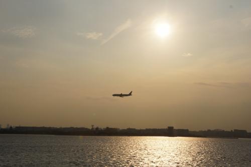 羽田空港が近づいてきました☆