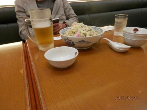 1109.<br />まずはビール。そしてやっぱりまずはちゃんぽん麺。