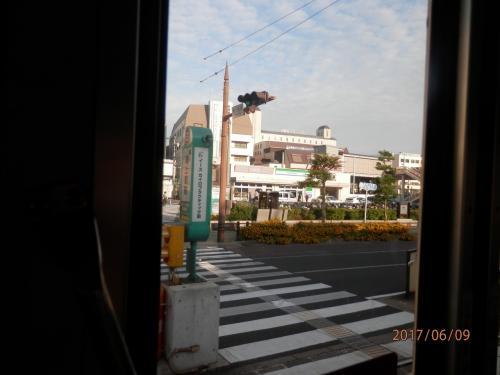 0632.平和公園から歩き始めて、随分歩いた。翌日は3つ手前の松山町から乗車。