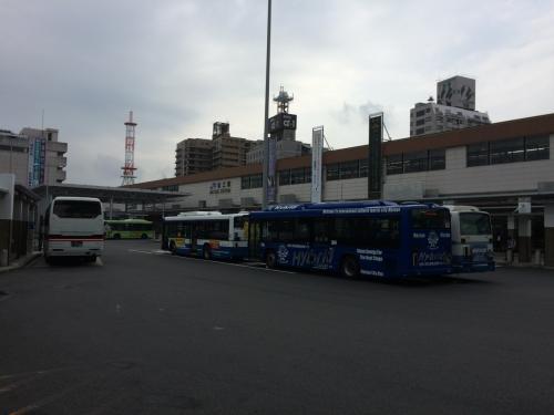 15分ほどで松江駅に到着です
