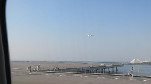 D滑走路からの離陸です