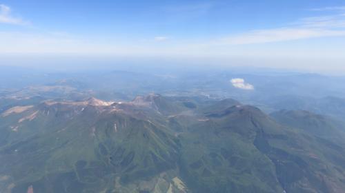 素晴らしい山々ですね