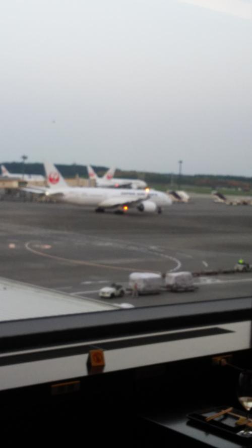 32年ぶりの成田空港からの出発