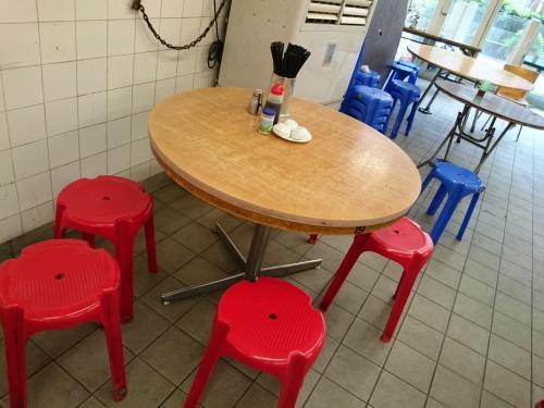 店内空いた時に撮りましたが、<br />次から次にお客さんが来てました。<br /><br />冷房効いてないから汗かきながら食べました。