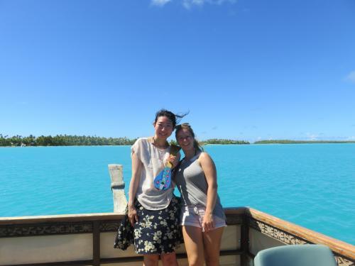 この船で、友達になったオーストラリア在住のドイツ人<br /><br />クック諸島って貴重な出逢いがある島だと感じています。