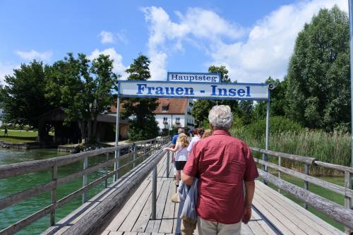 フラウエンインゼル島へ