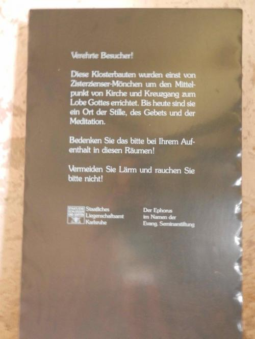 ここはシトー会修道院です。中世からの修道院の施設が完全に残っていて、そのためユネスコの世界遺産に登録されました。<br /><br />静かに見てくださいのような注意書きがあります。<br /><br />今年はいろいろな修道院や回廊をずいぶん訪ねました。修道院の年と言ってもいいくらいです。ドミニコ、ベネディクト、シトー。シトーは初めて。シトーはベネディクトから派生とウィキペディアにありました。<br />