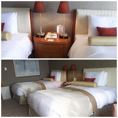 ベッド<br />固めで安定感がある、寝心地はとてもよかった。