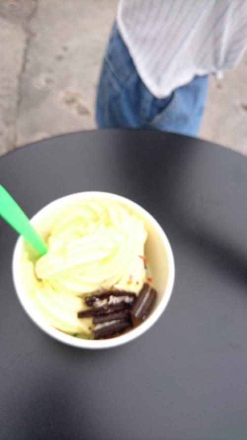 コールド・ストーンのヨーグルトのアイス