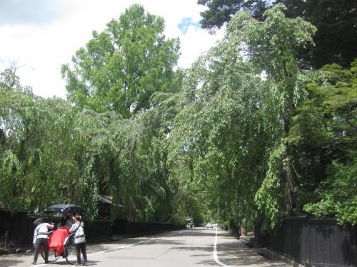 次は、角館へ。<br /><br />東北に来て、初めて暑いと感じました。それでも28℃~30℃くらい?<br />カラッとしていて、木陰だと結構、涼しかったです。<br /><br />街歩きの前にお昼ご飯を。