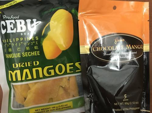 このお出かけで買ったお土産はこちら。<br /><br />まず、私たち2人も大好きなドライマンゴー!<br /><br />美味しいと評判の7Dはなかったので'Export Quality'と書いてあるものを選んでみました。<br />日本では見かけないチョコがけも購入♪<br /><br />