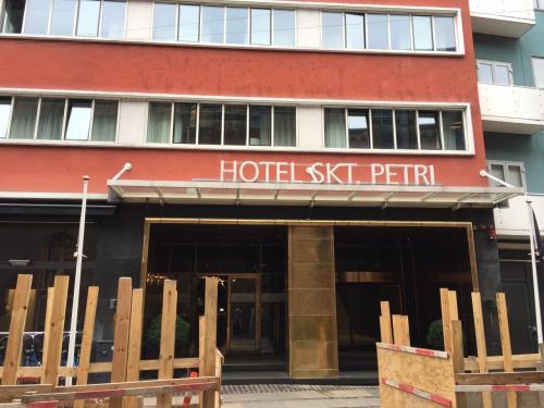 ホテル サンクト ペトリここに3泊します。<br />コペンハーゲン大学の隣りにあり、どこにでも徒歩圏内で立地は良いです。