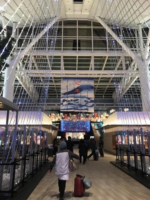 ドバイへはエミレーツ航空の深夜便で出発します。<br />ということで、夜の羽田空港に集合!!<br /><br />今回は飛行機とホテルのみのフリープランのツアーです。<br />旅行の2ヶ月前に三連休に安く行けるツアーを見つけ、すぐに予約しました。