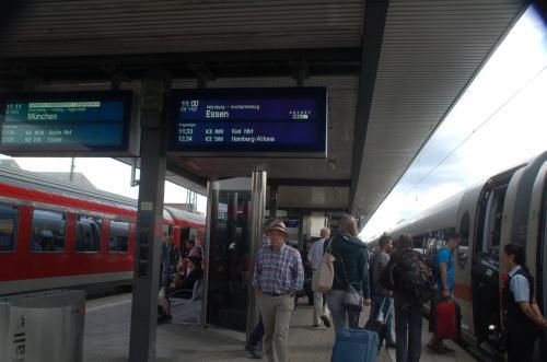 ミュンヘンからおよそ一時間でニュルンベルクに到着。