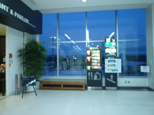 花巻空港2階です。