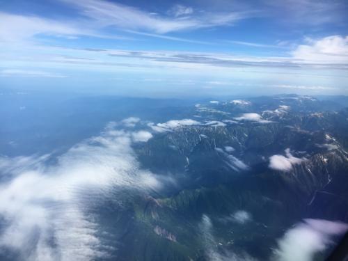 山の雄大で美しい風景が見られます。