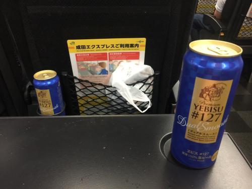 車内はビールでしょ(^ ^)