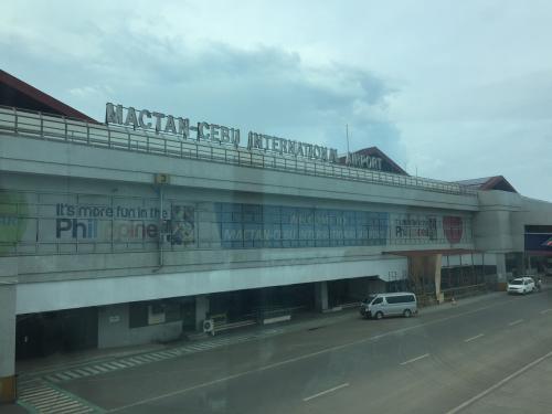 マクタン・セブ国際空港に無事着きました。