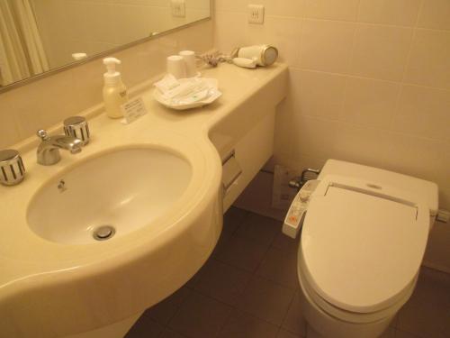 バスルームは、いつもと変わらないですね~。