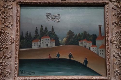 アンリ・ルソー「釣りをする人々」1908年