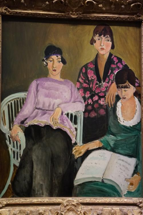 アンリ・マティス「三姉妹」1917年<br />アンリ・マティスは、フランスの画家でフォーヴィスム(野獣派)のリーダ-的存在。