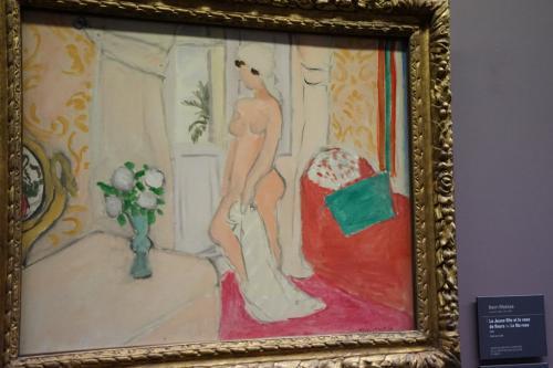 アンリ・マティス「若い娘と花瓶あるいはバラ色の裸婦」1920年