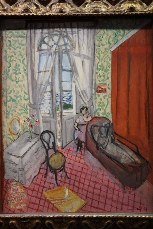 アンリ・マティス「ソファーの女たちあるいは長椅子」1921年