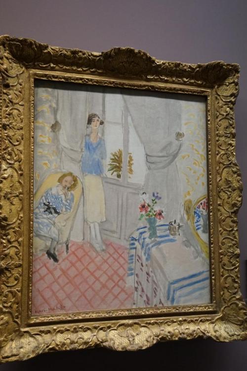 アンリ・マティス「女性の部屋」1920年