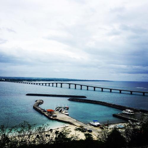 来間島大橋<br />来間島漁港