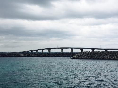 ❶来間島大橋渡って来ました。