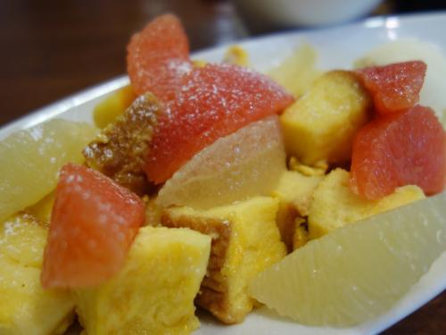 フルーツがおいしい。