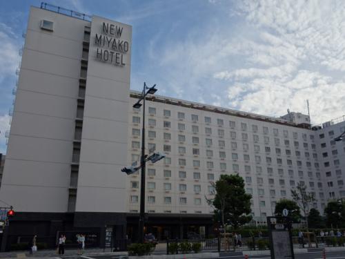 ホテルの全景。