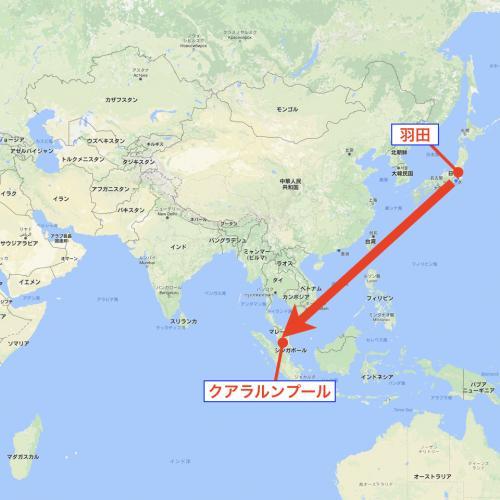 さてさて、日本からイランへ行くにはいろんな航路があるのだが、今回自分が選択したのは「AirAsia」でクアラルンプール経由でイランの首都「テヘラン」in する航路。 AirAsiaはLCCの草分け的な存在で、ファンも多い航空会社だが、個人的にあまり好きではない。 「カタール航空」なんかもドーハ経由でイランに行く路線を持っていたりするので、個人的にはそっちの方がいいのではないか?と思っている。 ただ、今回はドーハでの乗り継ぎ時間の短さ等の危険を回避するために、あえてAirAsiaを選択した。(結局帰国便のAirAsiaのクアラルンプールはDelayによりかなり危険だったのだが…) <br /><br />話は逸れてしまったが、そんなこんなでまずはマレーシアのクアラルンプールへ飛ぶ。 <br /><br />