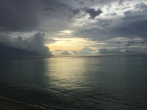 ホテル目の前のビーチも満喫しました(^-^)