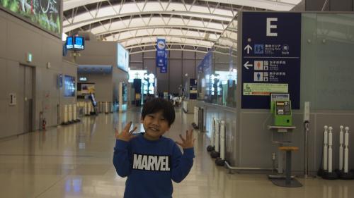 2017年3月27日です。関空に到着しました!<br />嬉しいグアムの旅が始まります。