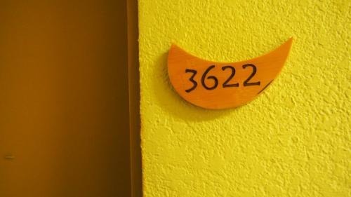 お部屋は3622号室です。<br />