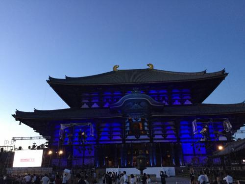 東大寺の正面の色はどんどん変化していきますが、これ以上は撮影禁止なのでご報告できません。何だこの肩すかしの旅行記かと思われますが、すみません。<br /><br />唯々、雅子様のお元気そうなお姿を見て、私としては安心でき大変嬉しゅうございました。