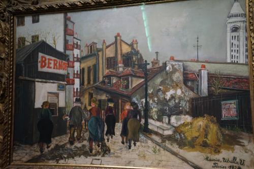 モーリス・ユトリロ「ベルノ商店」1924年