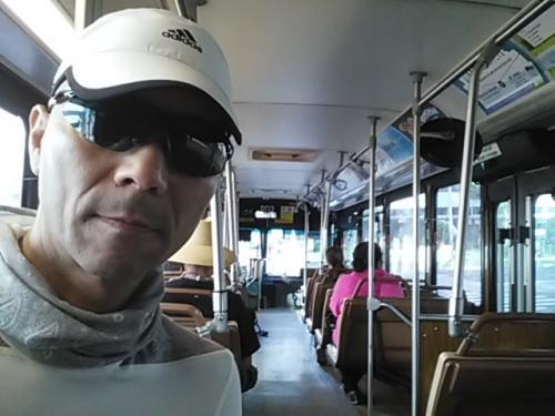 The Bus車内!<br /><br />2連結のバスでした!