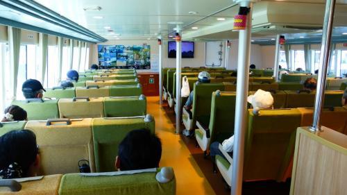 1Fの船室です。