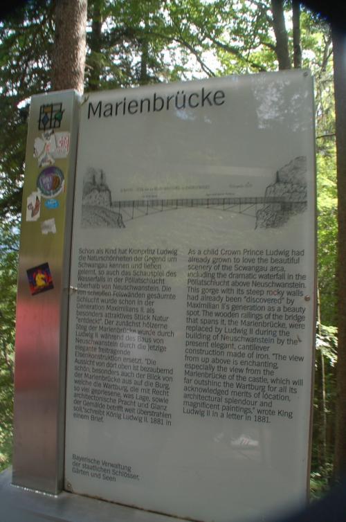 マリエン橋の説明。