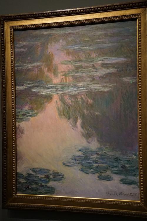 クロード・モネ「睡蓮の池」1907年