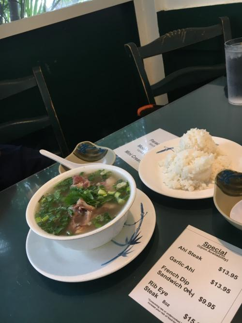 軽くテールスープを食すw