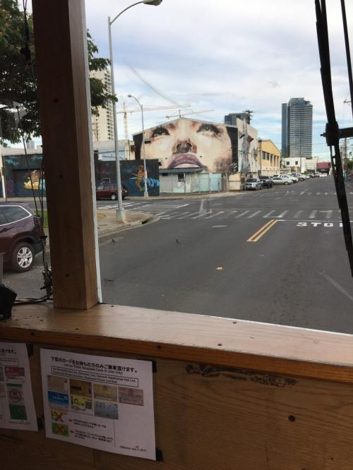 ダウンタウンLINEの最終便だったからなのか、ガイドさん乗ってても全然ガイドしてくれぬ…( ;∀;)<br />バス停すら案内なし。ここはどこ?わたしはだれ?<br /><br />ダウンタウンのウォールアート、ササッと通り過ぎてしまったので、いい写真が撮れなかった…( ;∀;)