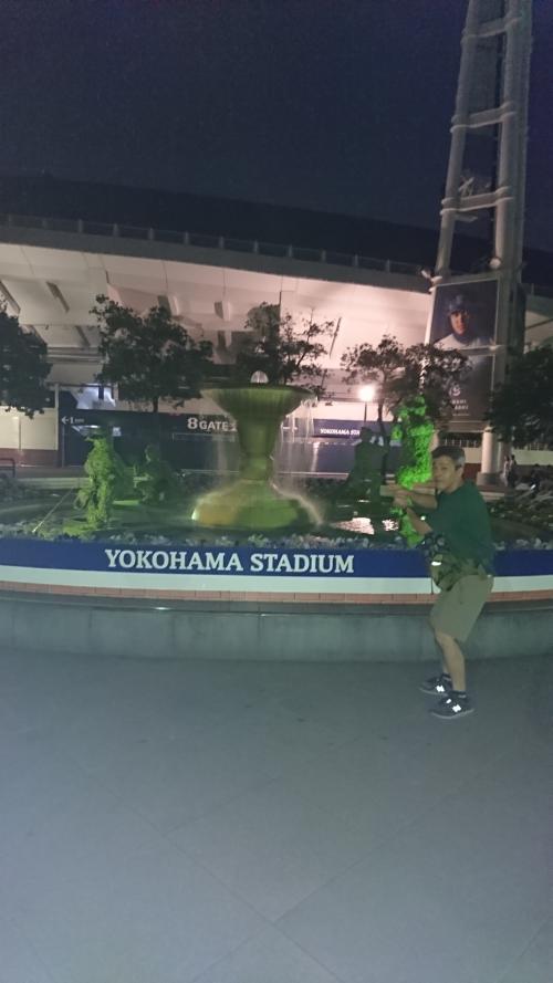 ホテルを横浜中華街に予約したので、電車で関内で下車し、ちょっと寄り道