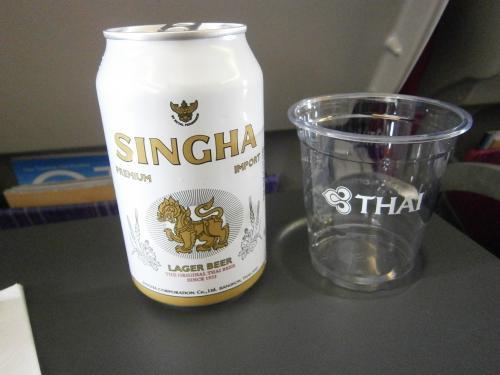 タイと言えばシンハービールは外せません。<br />チャーンよりシンハー派。